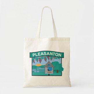 Beautiful Pleasanton Budget Tote Bag