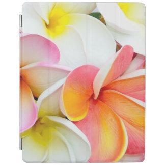 Beautiful Plumeria Flower Petals iPad Cover