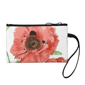 Beautiful Poppy Clutch Bag