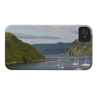 Beautiful port and sailboats with reflections in blackberry case