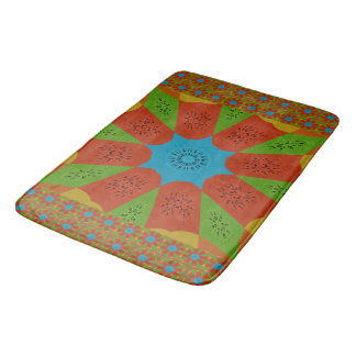 Beautiful Pretty Unique Exceptional colors design Bath Mat