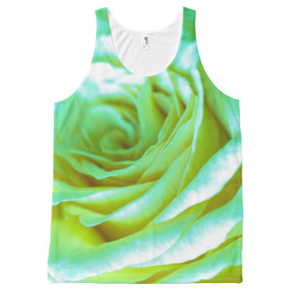 Beautiful Psychedelic Rose | Adorable Gifts All-Over Print Tank Top
