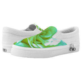 Beautiful Psychedelic Rose | Adorable Gifts Slip-On Shoes