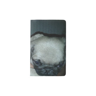beautiful puppies Custom Notebook - Pocket