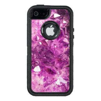 Beautiful purple Amethyst OtterBox iPhone 5/5s/SE Case