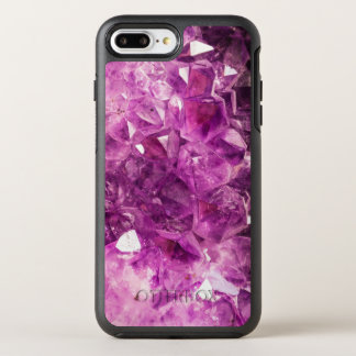 Beautiful purple Amethyst OtterBox Symmetry iPhone 7 Plus Case