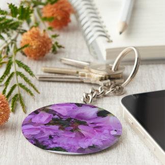 Beautiful Purple Azaleas Key Chains