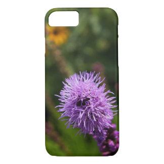 Beautiful Purple Blazing Star iPhone 7 Case