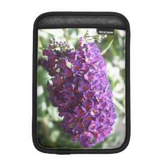 Beautiful Purple Buddleia Flowers IPad Mini Sleeve