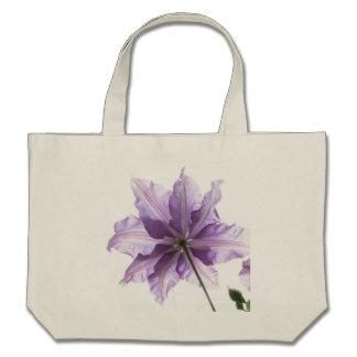 Beautiful Purple Clematis Bags