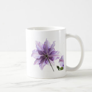 Beautiful Purple Clematis Coffee Mug