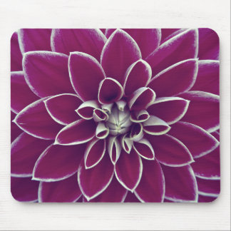 Beautiful purple dahlia flower blossom mouse mat