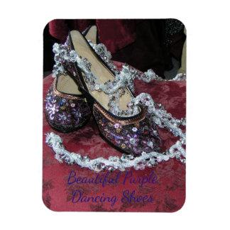 Beautiful Purple Dancing Shoes Magnet