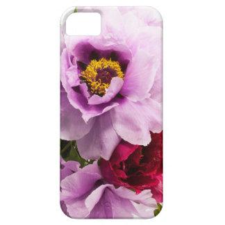 Beautiful Purple Dark Pink Flowers Floral Bouquet iPhone 5 Case
