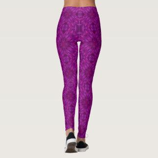 Beautiful Purple Mosaic Leggings