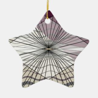 beautiful purple pattern design christmas ornament