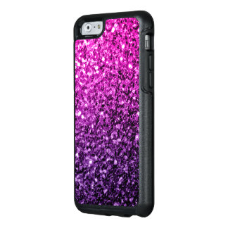 Beautiful Purple Pink Ombre glitter sparkles OtterBox iPhone 6/6s Case