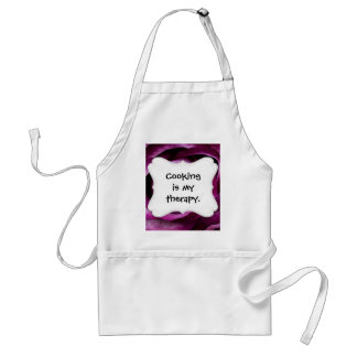 Beautiful Purple Rose Flower Petals Girly Gifts Standard Apron