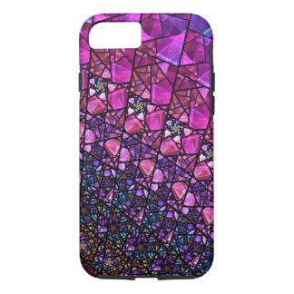 Beautiful Purple Stained Glass Pattern Case