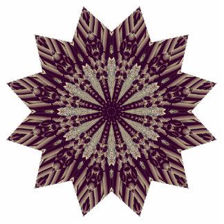 Beautiful Radiating Star Photo Sculpture Magnet