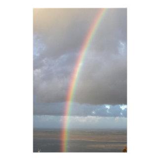Beautiful rainbow Bluff Stationery