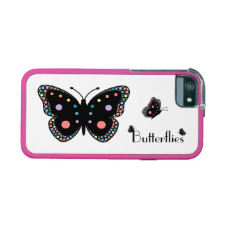 Beautiful Rainbow Butterflies Case For iPhone 5/5S