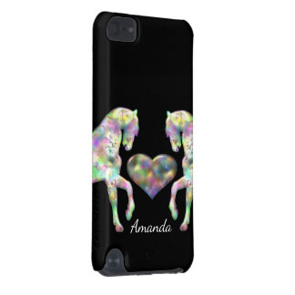 Beautiful Rainbow Horses and Heart iPod Touch (5th Generation) Cover