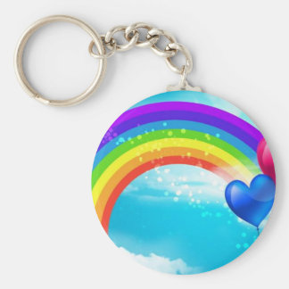 Beautiful Rainbow Key Ring