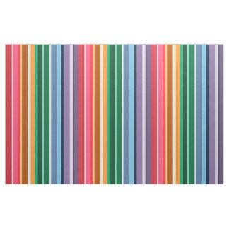 Beautiful Rainbow Stripes Fabric