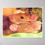 Beautiful Rats Poster