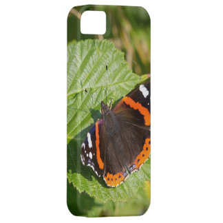 Beautiful Red Admiral Butterfly iPhone 5/5s Case