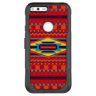 Beautiful Red African Textile Pattern OtterBox Commuter Google Pixel XL Case