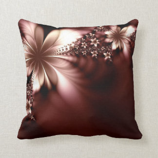 Beautiful red brown pillow cushions