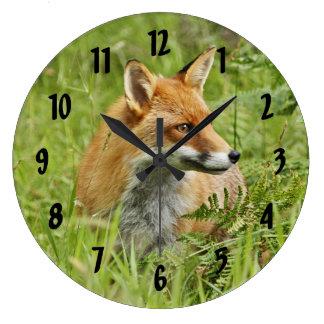 Beautiful Red Fox / Vixen Clocks