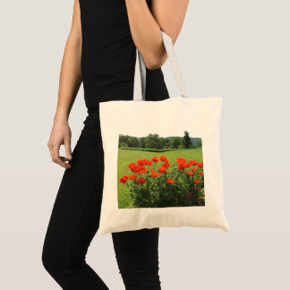Beautiful Red Poppies 4Lulu Tote Bag