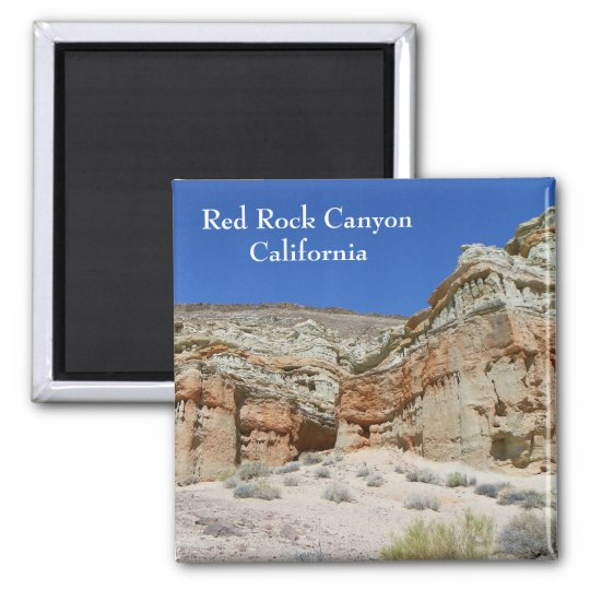 Beautiful Red Rock Canyon Magnet! Magnet