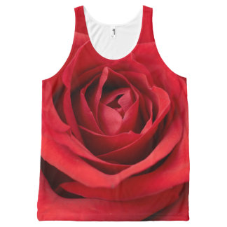 Beautiful Red Rose | Adorable Gifts All-Over Print Tank Top