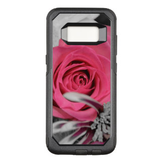 Beautiful red Rose OtterBox Commuter Samsung Galaxy S8 Case
