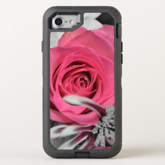 Beautiful red Rose OtterBox Defender iPhone 8/7 Case