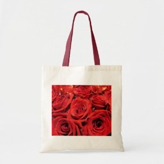 Beautiful Red Roses Tote Bag