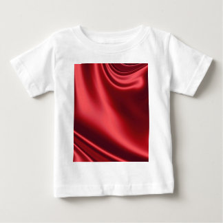 Beautiful Red Satin Baby T-Shirt