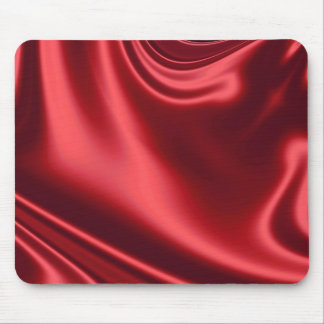 Beautiful Red Satin Mouse Pad
