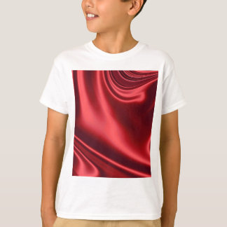 Beautiful Red Satin T-Shirt