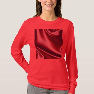 Beautiful Red Satin T-Shirt