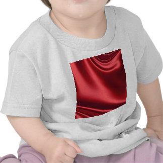 Beautiful Red Satin Shirt