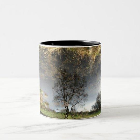 Beautiful Reflection Photography Tree Mug