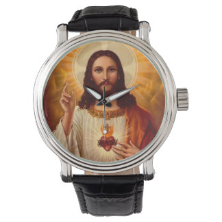 Beautiful religious Sacred Heart of Jesus image Watch