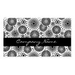 Beautiful retro black and white Business Card