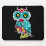 Beautiful Retro Colourful Owl