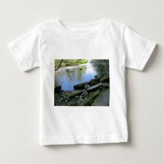 Beautiful River Bank Scene Baby T-Shirt